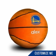 Golden State Warriors Personalized Plush Basketball by Chad & Jake