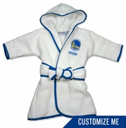 Golden State Warriors Personalized Robe by Chad & Jake