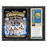 Golden State Warriors Photo File NBA Championship Commemorative Plaque