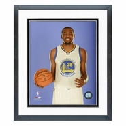 Golden State Warriors PhotoFile Kevin Durant 11x14 Player Photo Matted and Framed - Blue Background