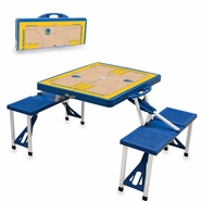 Golden State Warriors Picnic Time&reg Portable Picnic Table