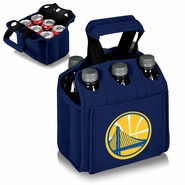 Golden State Warriors Picnic Time&reg Six-Pack Insulated Drink Carrier