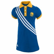 Golden State Warriors Polo Dress-Royal