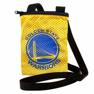 Golden State Warriors Primary Logo Game Day Pouch - Gold