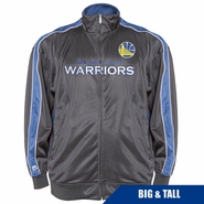 Golden State Warriors Profile Big & Tall Court Jacket � Charcoal