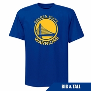 Golden State Warriors Profile Big & Tall Primary Logo Short Sleeve Tee � Royal