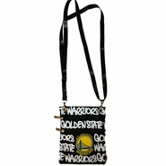 Golden State Warriors Robin Ruth Neck Wallet - Black