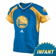 Golden State Warriors Short Sleeve Basketball Jersey & Pant Set-Royal
