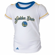 Golden State Warriors Short Sleeve Top and Skirt-MTC