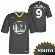 Golden State Warriors Slate Alternate Andre Iguodala adidas Youth Jersey