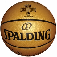 "Golden State Warriors Spalding Limited Edition 29.5"" Full Size Champs Basketball"