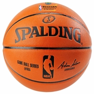 Golden State Warriors Spalding Western Conference Finals Composite Replica Game Ball