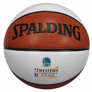 Golden State Warriors Spalding Western Conference Finals Mini Ball