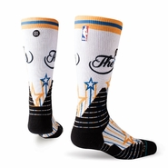 Golden State Warriors Stance Limited Edition NBA Finals Opt Crew Promo Sock - White
