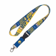 Golden State Warriors Stephen Curry MVP Lanyard