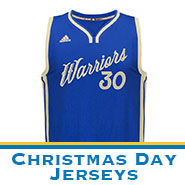 Golden State Warriors Team Store: Christmas Day Jerseys