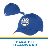 Golden State Warriors Team Store: Flex-Fit Headwear