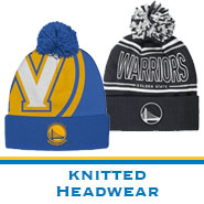 Golden State Warriors Team Store: Knit Headwear