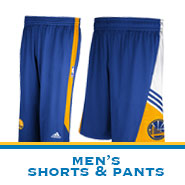 Golden State Warriors Team Store: Men's Pants & Shorts