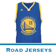 Golden State Warriors Team Store: Road Jerseys