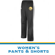 Golden State Warriors Team Store: Women's Pants & Shorts
