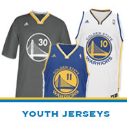 Golden State Warriors Team Store: Youth Jerseys