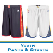 Golden State Warriors Team Store: Youth Pants & Shorts