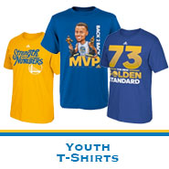Golden State Warriors Team Store: Youth T-shirts