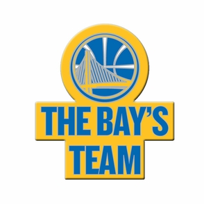 Golden State Warriors The Bay's Team Pin - Click to enlarge