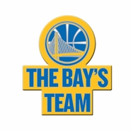 Golden State Warriors The Bay's Team Pin