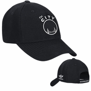 "Golden State Warriors ""The City"" Adidas Structure Adjustable Cap - Black"