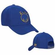 "Golden State Warriors ""The City"" Adidas Structured Adjustable Cap - Royal"