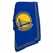 Golden State Warriors Throw Blanket - Royal