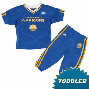 Golden State Warriors Toddler Shooter & Pant Set - Click to enlarge