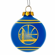 Golden State Warriors Tree Ornament - Royal/ Gold