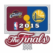 Golden State Warriors vs. Cleveland Cavaliers Aminco The Finals Dueling Pin - Will Ship 6/9