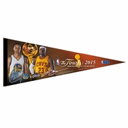 Golden State Warriors vs. Cleveland Cavaliers WinCraft The Finals Curry vs. James Pennant