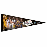 Golden State Warriors vs. Cleveland Cavaliers WinCraft The Finals Top 3 Players Match-up Pennant - Will Ship 6/9
