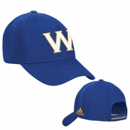 "Golden State Warriors ""W"" Adidas Structured Adjustable Cap - Royal"