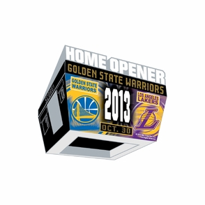 Golden State Warriors Wincraft 2013-2014 Opening Night Pin - Click to enlarge