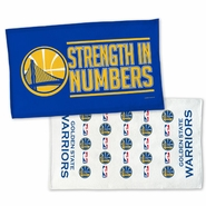 Golden State Warriors Wincraft 2016 Playoffs On-Court Two-Sided Bench Towel � 22�x42�