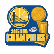 Golden State Warriors Wincraft NBA Championship Premium Acrylic Magnet - Will Ship 7/8