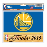 Golden State Warriors WinCraft The Finals Decal - Will Ship 6/9
