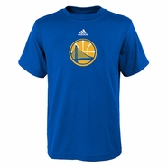 Golden State Warriors Youth Pregame Graphic Tee-Royal