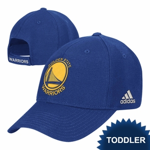 Golden State Warriors adidas Toddler Royal Blue Primary Logo Adjustable Hat - Click to enlarge