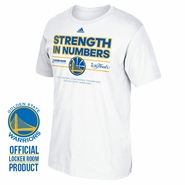 Golden State Warriors adidas Western Conference Champions Locker Room Tee