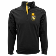 Golden State Warriors Levelwear Finals Champs Quarter Zip Jacket - Black