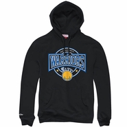 San Francisco Warriors Mitchell & Ness 'The City' Down To The Wire Pullover Hoody � Black