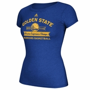 Golden State Warriors adidas Ladies Western Conference Champions Banner Tee - Will Ship 6/2