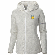 """Golden State Warriors Columbia Women's NBA Finals """"The City"""" Outerspaced Full Zip Hoodie - White"""